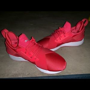 passion pink puma sneakers